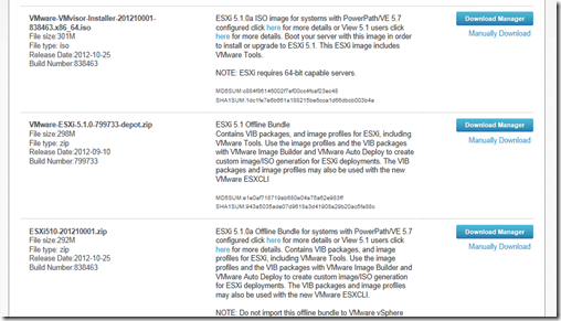 Running Esxi 5 1 And Emc Powerpath Ve 5 7 Itzikr S Blog