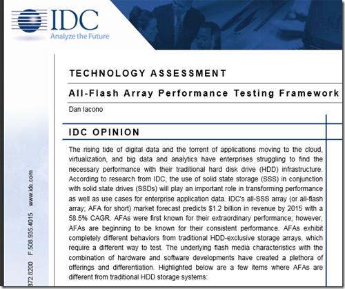 Testing An All Flash Array – Itzikr's Blog