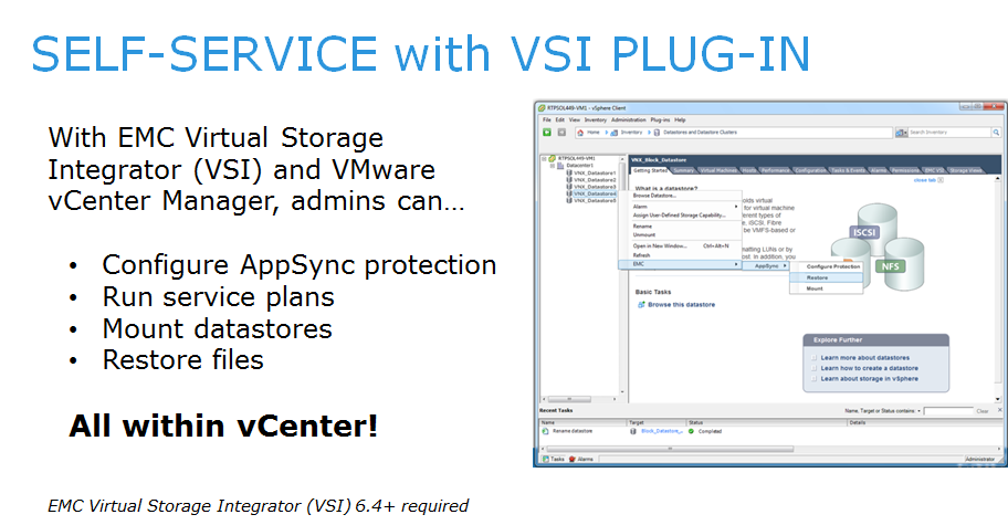 Protecting Your Vms With Emc Appsync Amp Xtremio Snapshots