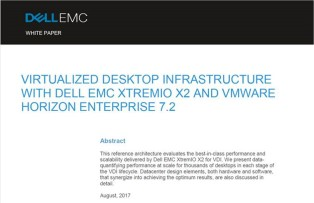 The First XtremIO X2 VDI Reference Architecture is ready